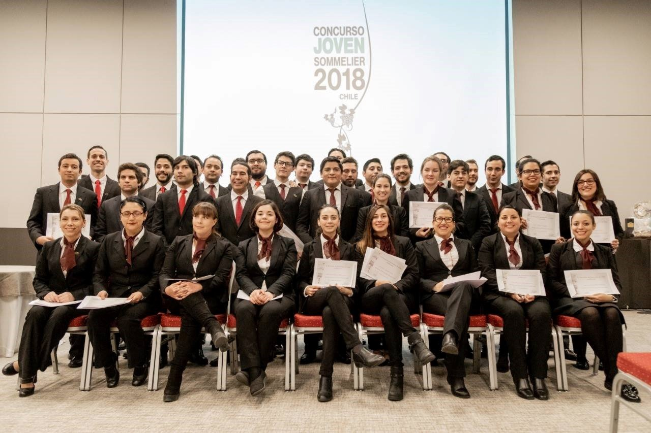 Chile best young somm 2018