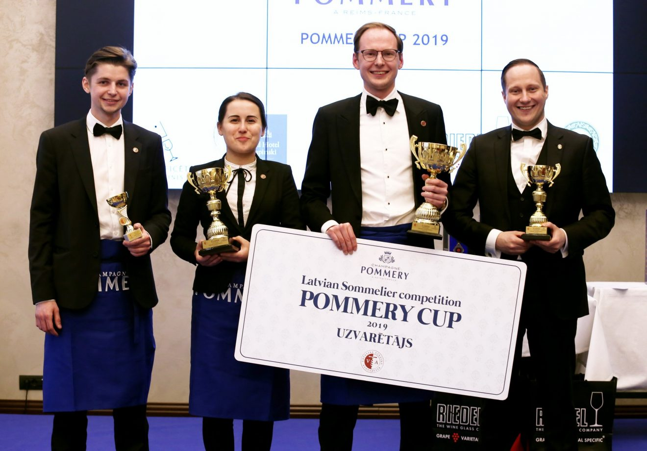Sommelier Competition in Latvia