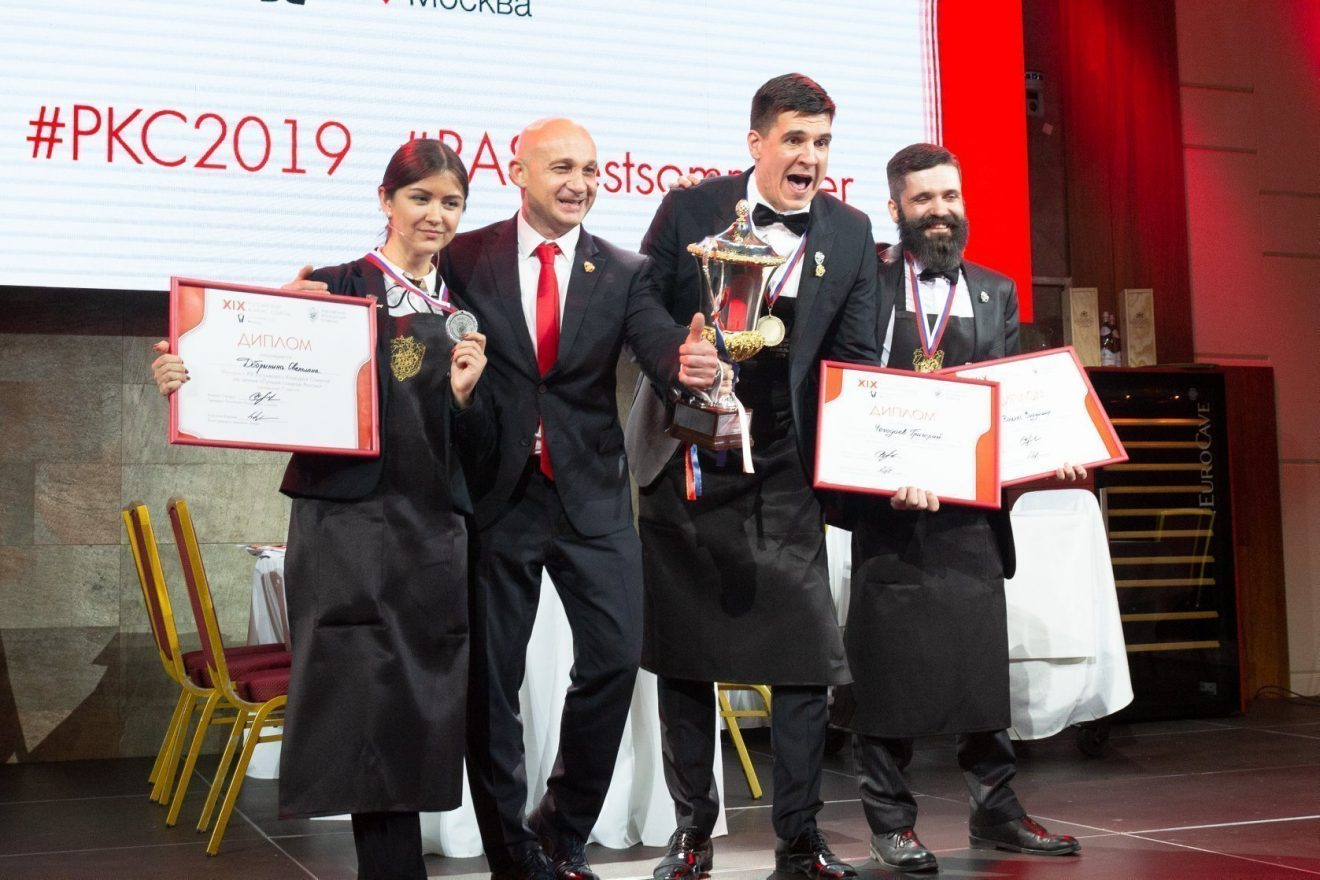 Sommelier Competition in Russia
