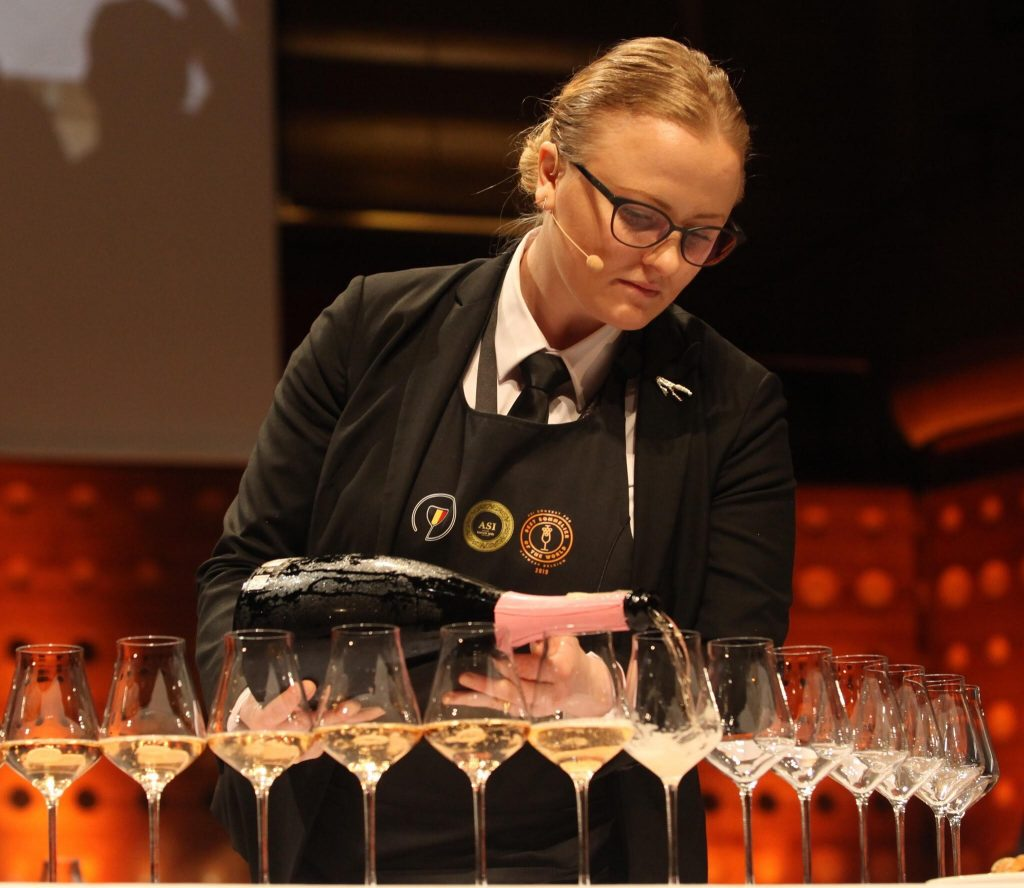 Best sommelier of Denmark